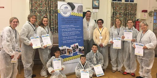 CSI Crime Scene Investigation Family Event with The Forensic Experience