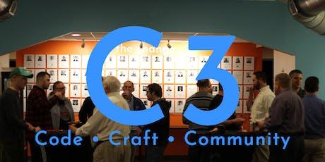 C3: Code, Craft, Community meetup tickets