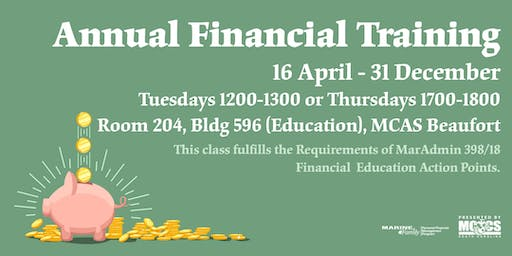 Annual Financial Training 2019