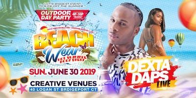 Beach Wear 2019 Outdoor Day Event [Dexta Daps Live]