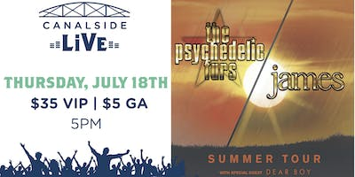 Canalside Live Series: The Psychedelic Furs and James