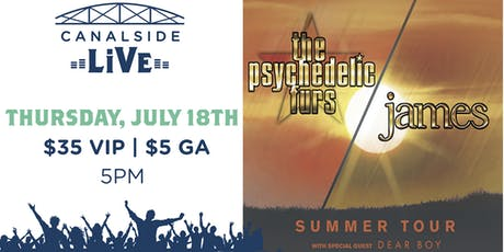 Canalside Live Series: The Psychedelic Furs and James tickets