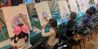 Intro to Painting Ages 3-6 Workshop Deposit