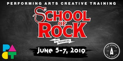 School of Rock: The Musical presented by The PACT
