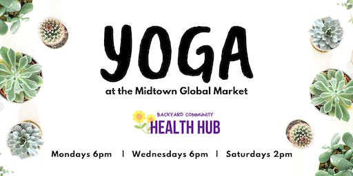 Yoga at the Midtown Global Market (FREE)