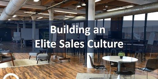 Building an Elite Sales Culture | Workshop