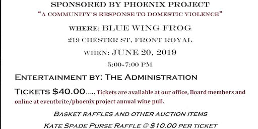 Phoenix Project Annual Wine Pull
