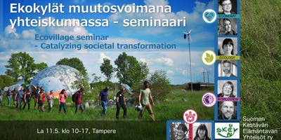 Ekokylät muutosvoimana yhteiskunnassa -seminaari