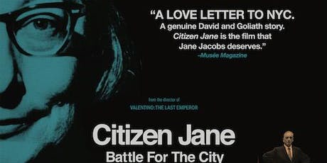 FREE Movie Night: Citizen Jane tickets