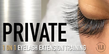 The Lash Class - Private Training tickets