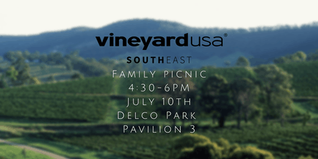 Vineyard Southeast Pastors, Friends, and Family Dinner tickets