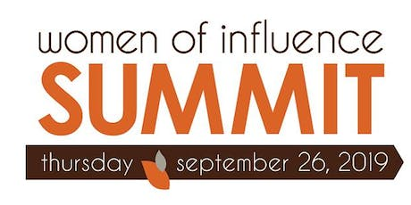 Women of Influence Summit 2019  tickets