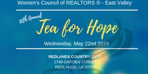Tea For Hope with Women's Council of REALTORS East...