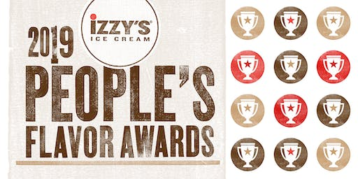 Izzy's People's Flavor Awards: An Ice Cream Tasting Event 2019