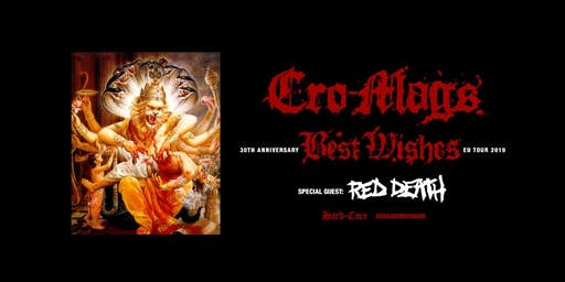 CRO MAGS - Best Wishes Tour - Stuttgart
