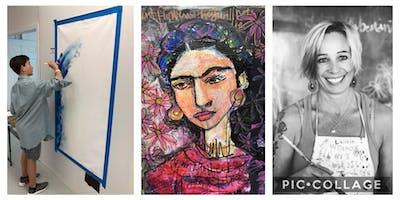 I'M THE ARTIST Frida Kahlo Summer ART WEEK for Kids Ages 9-12 years