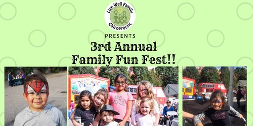 3rd Annual Family Fun Fest!!