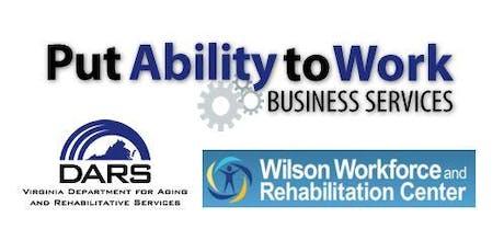 Wilson Workforce & Rehabilitation Center - Employer Tour - June 2019 tickets