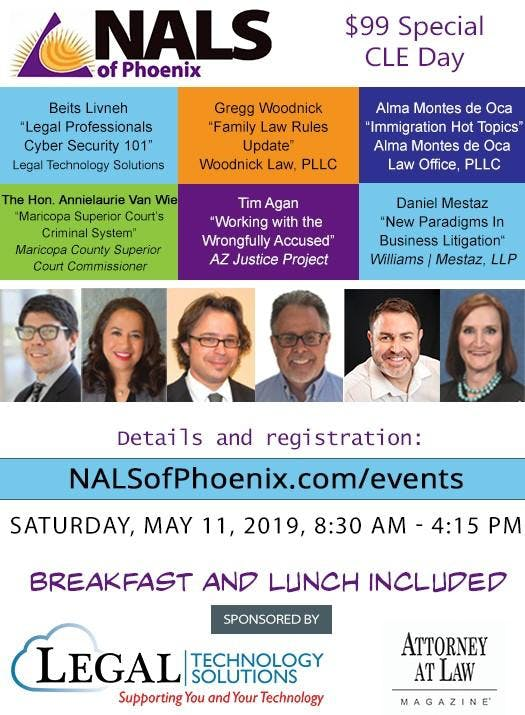 NALS of Phoenix presents - May CLE Day