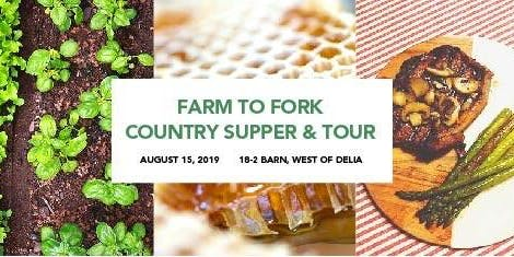 Farm to Fork Country Supper & Tour