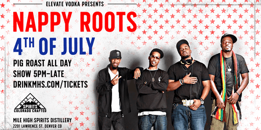 Nappy Roots at Mile High Spirits