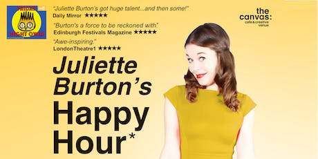 Juliette Burton's Happy Hour tickets