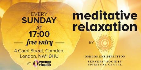 Meditative Relaxation tickets