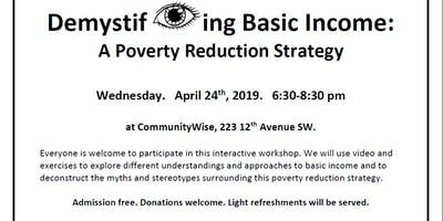 Demystifying Basic Income: A Poverty Reduction Strategy