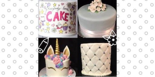 Fabulous Fondant Mini Cakes