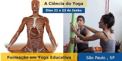 Curso a Ciência do Yoga - São Paulo , SP - 2019