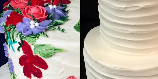 Tiered Cake Decorating