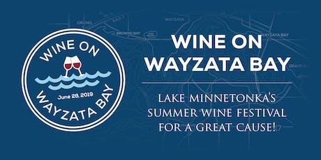Wine on Wayzata Bay tickets