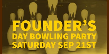Founders Day Bowling Party  tickets