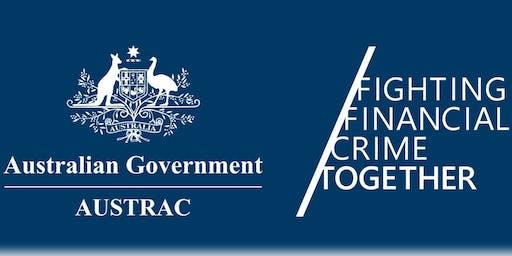 AUSTRAC RegTech Engagement (ARTE) session - Sydney- Tues 17 September 2019