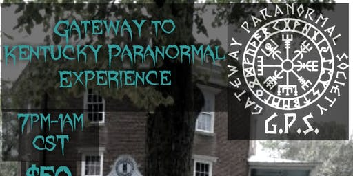 Gateway To Kentucky Paranormal Experience At Octagon Hall