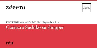 WORKSHOP / Cucitura Sashiko su shopper