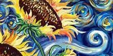 July 31 Van gogh inspired Sunflowers