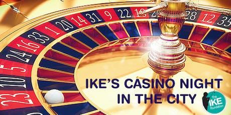 Ike's Casino Night in the City tickets