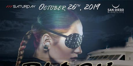 San Diego Halloween Black Pearl Yacht Party tickets