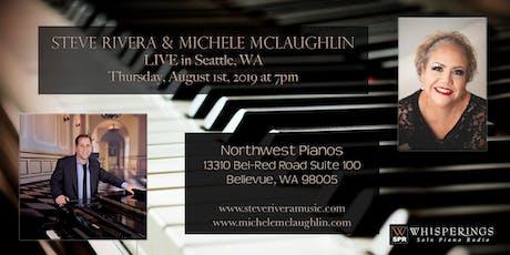 Steve Rivera and Michele McLaughlin LIVE in Seattle, WA tickets