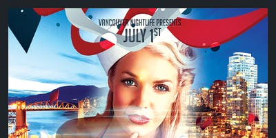 Special Vancouver Pier Pressure  Canada Day Yacht Party
