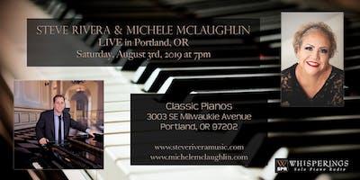 Steve Rivera and Michele McLaughlin LIVE in Portland, OR