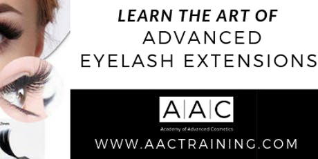 ADVANCED EYELASH EXTENSIONS CERTIFICATION TRAINING tickets