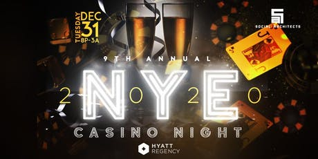 9TH ANNUAL NEW YEARS EVE CASINO NIGHT  tickets