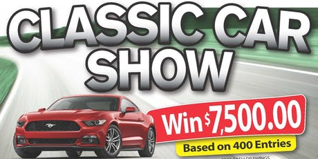 2019 Classic Car Show Vendor tickets