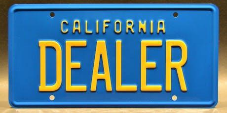 Roseville Car Dealer Licensing School tickets
