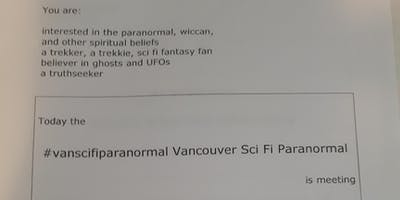 Vancouver Sci Fi Paranormal Watching Avengers End Game