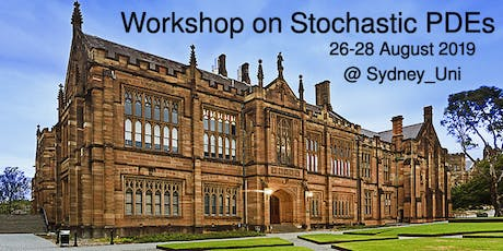 Workshop on  Stochastic Partial Differential Equations tickets