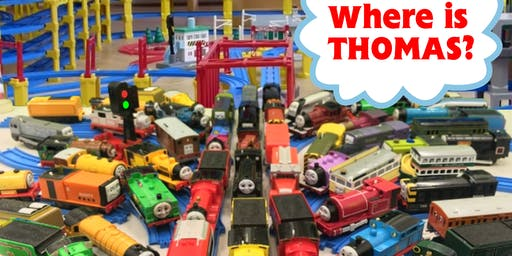 """Where Is Thomas"" @ the Armory - Build the Sydney Train Network"