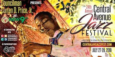 24th Annual Central Avenue Jazz Festival